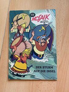 MOSAIK Digedags Nr. 123 - DER STURM AUF DIE INSEL
