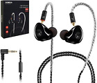 Ear Monitor Dynamic Hybrid Wired Earbuds Dual Driver in Ear Earphones Musicians picture