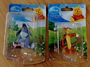 2 Disney Tigger & Eeyore Winnie The Pooh Figurines Beverly Hills Teddy Bear Co