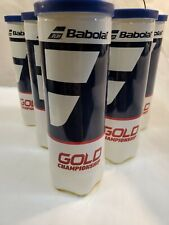 6 Pack Babolat Gold Championship Tennis Balls Durable Responsive Comfort 18 Ball