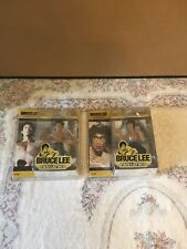Lot of 2 BRUCE LEE Action Figures Fanatiks New In Box Collectible