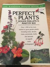 Book of Perfect Plants by Roger Phillips & Martyn E. Rix (1996, Pb) FREE SHIP