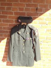 Vietnam 82nd Army Airborne Uniform With Patches And Theatre Ribbon Size 38