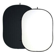 Collapsible Background Board Two Sided Black/White Reversible Backdrop Panel