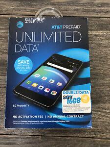 LG Phoenix 4 16GB (At&t) Smartphone - Black
