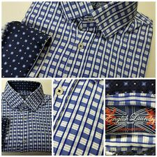 English Laundry Christopher Wicks L/S Flip Cuff Button Front Shirt 16.5 32/33