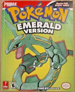 Prima Official Pokemon Emerald Strategy Guide Book