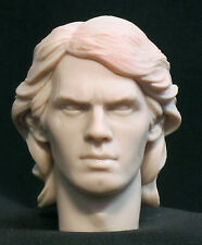 "CUSTOM RESIN HEAD SCULPT. Anakin Skywalker Darth Vader Star Wars  1/6,12"".ST-50"