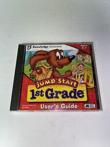 Jump Start 1st Grade Deluxe Adventure CD-ROM Homeschool Educational Learning