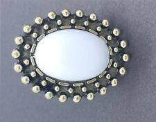 White Big Stone Metal Stylish Rhinestone Fashion Retro Vintage Adjustable Ring