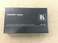 KRAMER FC-47  HDMI to DVI/Audio Converter