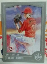 2018 DIAMOND KINGS GRAY FRAME 95/99 ROOKIE INSERT CARD OF SHOHEI OHTANI # 73
