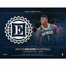 2019/20 PANINI ENCASED BASKETBALL FACTORY SEALED HOBBY BOX MORANT ZION RC ? LIVE