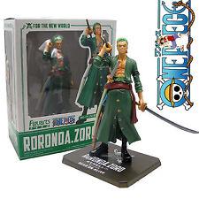 One Piece Anime New World RORONOA ZORO Figuarts Zero 6.3in Figure New With Box