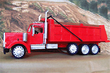 Kenworth Dump Truck wood model plan 12 in  1/32 scale
