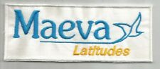 MAEVA latitudes centre de loisir location vacance écusson / patch 12.5X5 cm