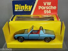 Dinky Toys Modelo No.208 Porsche 914 MIB