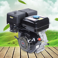 420CC 15HP 4 Stroke Horizontal Gasoline Engine Tiller Motor Manual Recoil Start