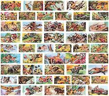 More details for new 1966 banner production tarzan trade cards set of 50 cards.