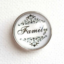 SMALL SNAP * FAMILY Snap 12mm Interchangeable Jewelry Fits Ginger Snaps