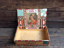 Scarce Showanda Esquisitos Cigar Box with Tax Stamp Remnants