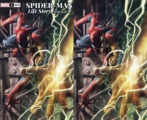 SPIDER-MAN MAN LIFE STORY ANNUAL #1 Marco Mastrazzo Variant SET 9.6-9.8