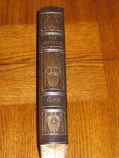 Easton Press - The Republic by Plato - Factory Seal