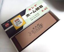 Japanese whetstone waterstone knife sharpener King K-45 #1000 toishi sharpner