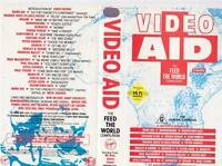 VIDEO AID feed the world compliation~VHS VIDEO PAL~ A RARE FIND~