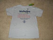 NWT Youth Scoutwear Cub scouts Webelos T-shirt Grey Size L