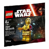 Lego Star Wars C3P0 Red Arm Minifigure 5002948 Polybag BNIP *New*