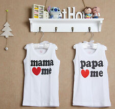 (WJ 0088-02) New Jewelry Baby Kids Singlets, Set In 2