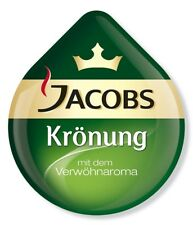 8 x Tassimo Jacobs Krönung T Discs Pods - 8 T Discs Sold Loose 8 Drinks Kronung