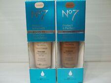 No7 Protect & Perfect Advanced All-In-One Foundation *PICK SHADE* 30ml/1 oz NIB