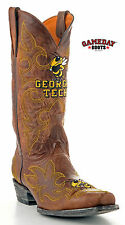 Gameday Boots Mens size 11 medium Western cowboy boot Georgia Tech Yellowjackets