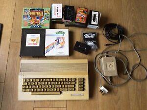 Working Commodore 64c Computer Original Seals Intact - Bundle With C64 Games