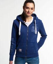 Sudaderas de mujer Superdry color principal azul
