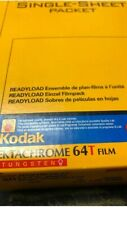 kodak readyload 4x5 sheet film ektachrome 64t 20 sheets expired