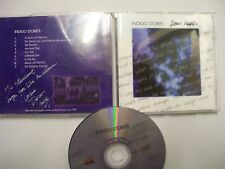 DOM HUTTON Indigo Stories – 1997 UK CD – SIGNED! – Acoustic Rock, Jazz – RARE!