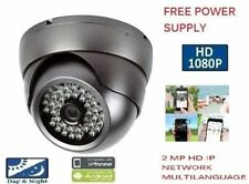 1080P 2MP 3.6MM OUTDOOR DOME IP HD IR Security NETWORK Camera CCTV camera mtlc g