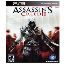 Assassin's Creed II (Sony PlayStation 3, 2009) 106851-2 (J) BY8A