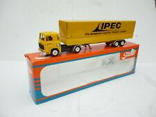 1:50 TEKNO HOLLAND SCANIA 141  IPEC EXPRESS TRAILER LKW TRUCK N M BOXED