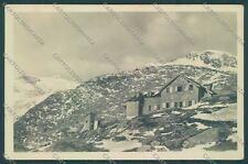 Bolzano Rifugio Dante alla Stua Cai STRAPPINO Foto cartolina ZC4929