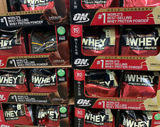 Optimum Nutrition Gold Standard 100% Whey Protein, rBST Free, 80 Servings