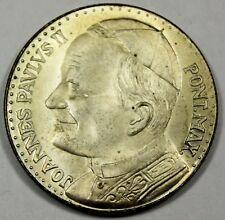 Italy / Italian Pope John Paul II Souvenir Medal - BU Brilliant Uncirculated