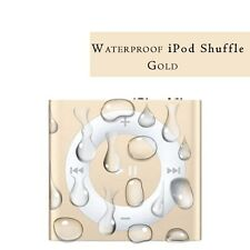 Waterproof Apple iPod shuffle newest generation 2GB Gold BRAND NEW.