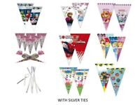 Sweet Cones Party Bags Avengers Spiderman PAW Patrol Peppa Pig Unicorn with ties
