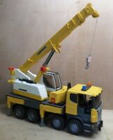 Bruder 3570 Scania R-Series Liebherr Mobile Crane Truck Yellow inc UK P+P READ!!