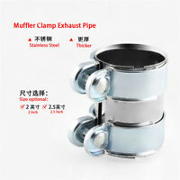 Stainless Steel Turbo Exhaust/Downpipe/Catback/Muffler Pipe Band/Flanges/Clamp