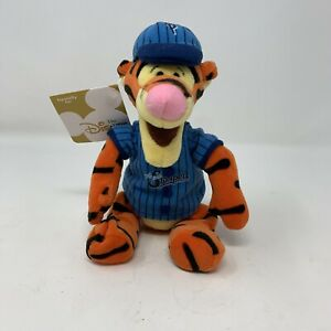 Walt Disney Company Plush Baseball Tigger Beanie Bee Stompers 9 Inches
